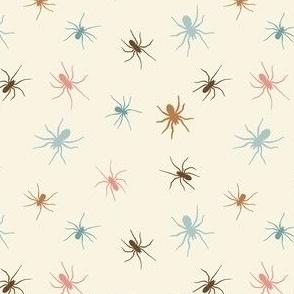 Pastel Spiders