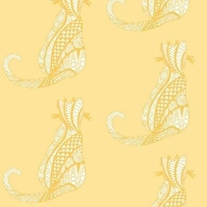 Zen-Diggity - yellow cats