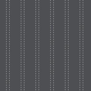 double stitch stripes navy medium scale