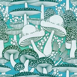 fall fungi blues