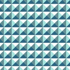 geometric mountain ranges