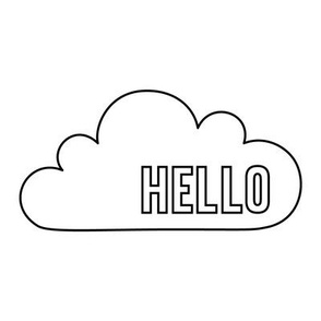 hello cloud 8 inch swatch mod baby coloring