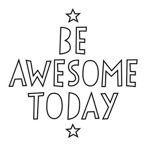 be awesome today 8 inch swatch mod baby coloring