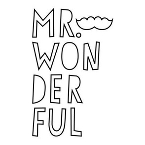 mr. wonderful 8 inch swatch mod baby coloring