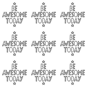 be awesome today 24 inch x 12 inch wallpaper swatch mod baby coloring