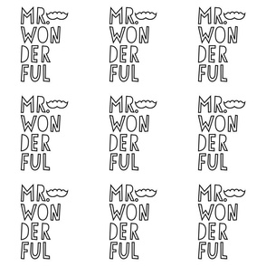 mr. wonderful 24 inch x 12 inch wallpaper swatch mod baby coloring