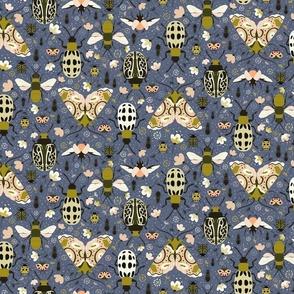 Moths bugs and flies