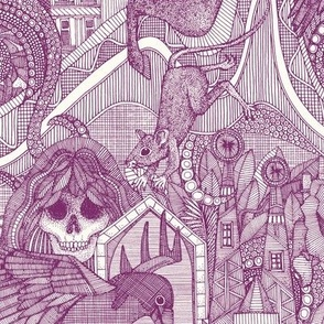 phantasmagoria purple small