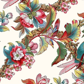 Edwardian Parrot ~ Celine ~ Rotated