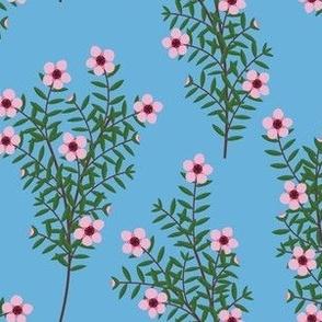 Manuka Flower Blue