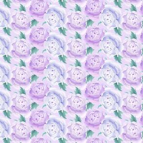 Romantic Lavender Roses Large
