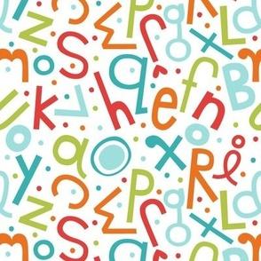 soupy alphabet teals ABC's