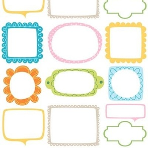 bloomified frames small colorful