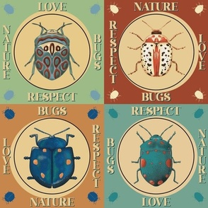 Love bugs, Respect nature