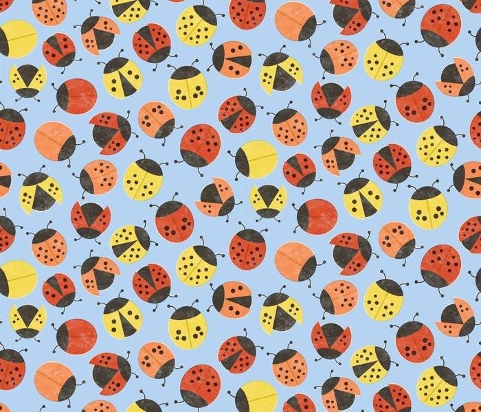 Retro Ladybugs