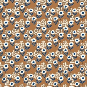 The leopard sunflowers sweet wild blossom eclectic blue caramel white tiny