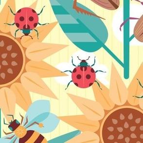 Retro Summer Bugs {large size}