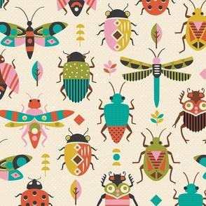 Mid Century Bugs Large Scale