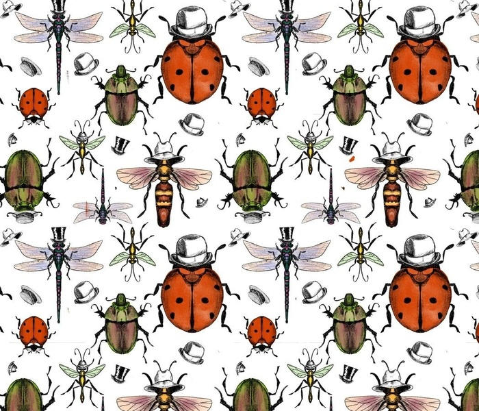 Bugs in bowler hats