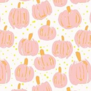Pastel Pink Pumpkin