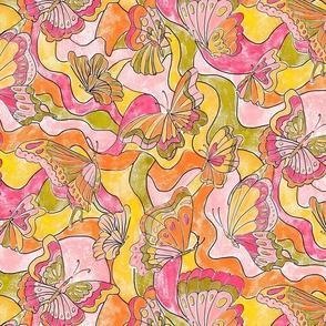 Butterflies a-go-go