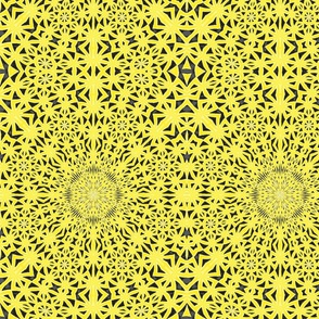 Cathedral Lace Yellow