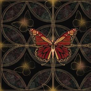 Nouveau Butterfly