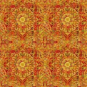 Golden Charm: Ancient Orange - ENLARGED
