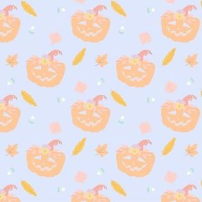 Pastel Halloween Pattern