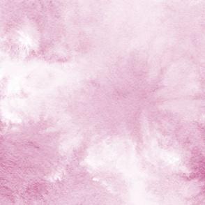 watercolor tie dye - rose pink