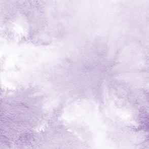 watercolor tie dye - purple