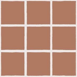 brushy grid rose