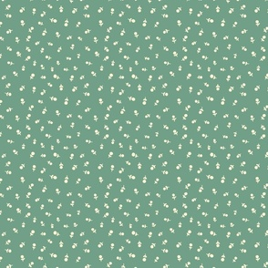 Autumn Ditzy Floral - Green