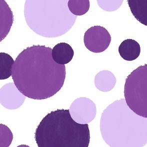 Lavender Road dots