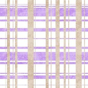 Lavender road stripes
