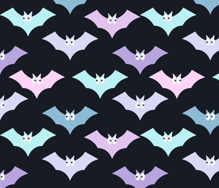 Pastel Bats 2