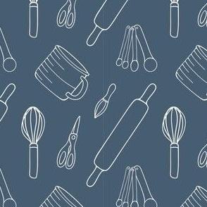 Baking Essentials in Navy