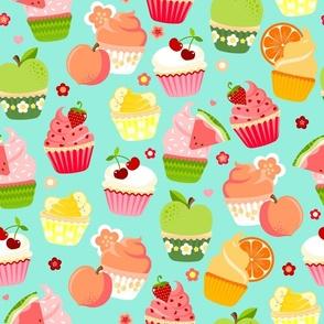 Cutie Fruity Cupcakes - Large