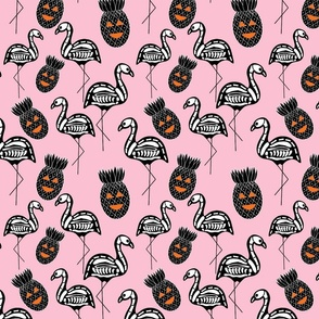 A fright in paradise in Pastel Pink