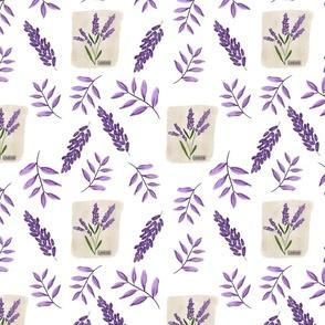 Lavender Road flowers