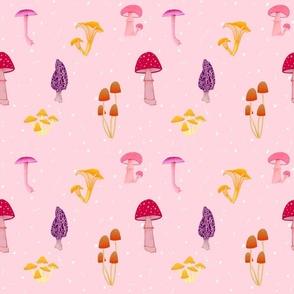 Magic Mushrooms Pink