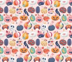 Pastel pumpkin patch