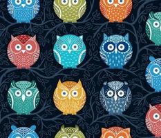 Rainbow Owls
