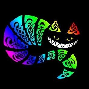Celtic Cheshire Rainbow Cat