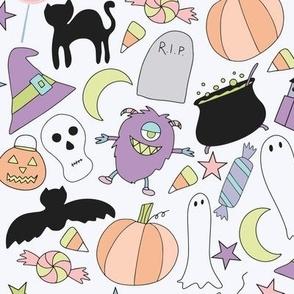 Trick or Treat Pastel Halloween