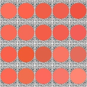 Peacoquette Designs Palette ~ Coral Variations