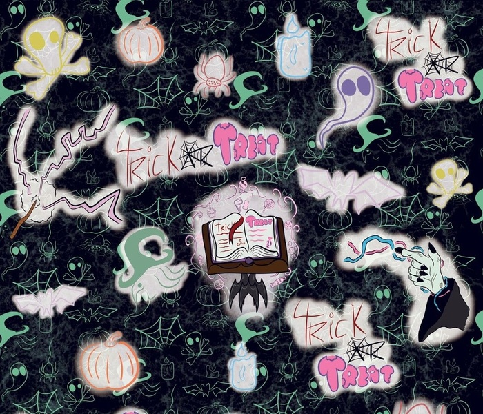 Trick Or Treat A Pastel Halloween