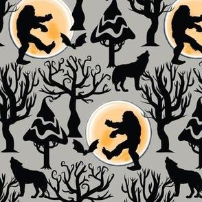 Zombie Bigfoot Halloween