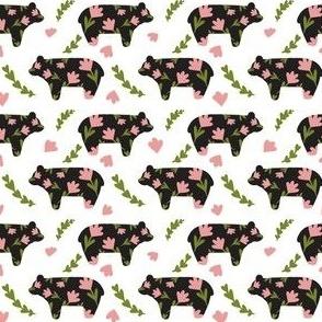 Floral Botanical Bears