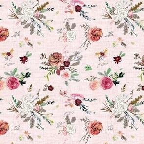 Fable bouquet  (mauve) SML